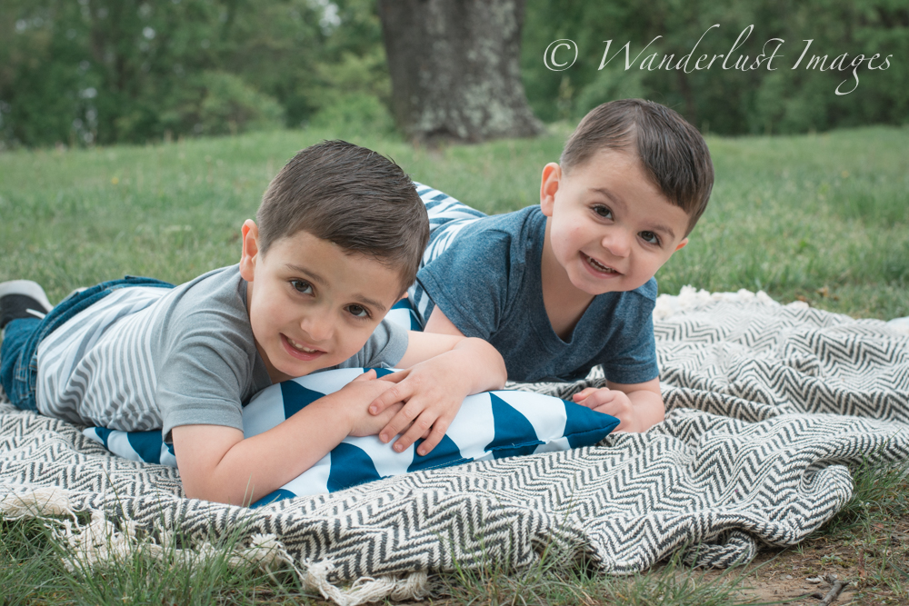 Boys on Blanket
