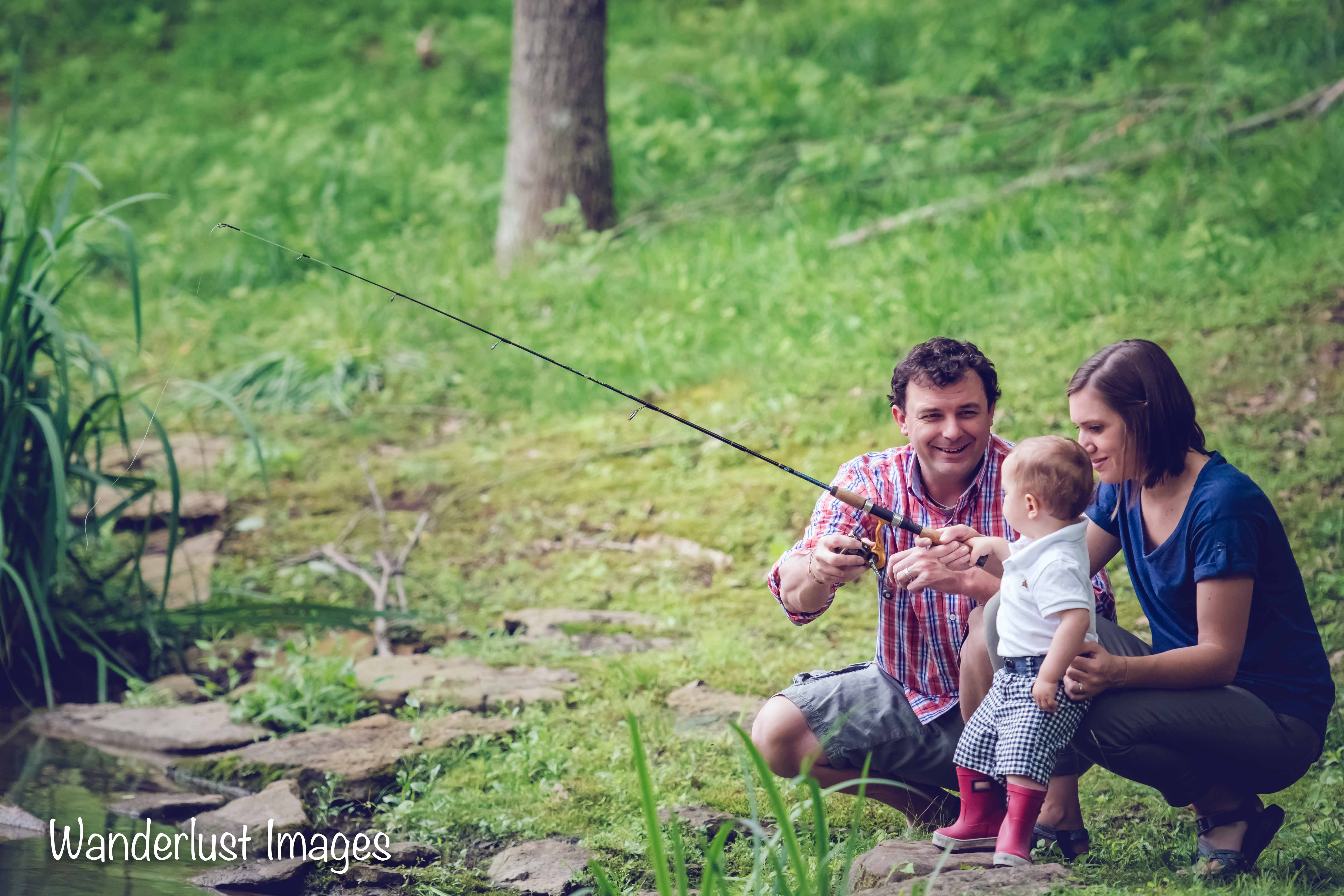 Family Session: Gone Fishing
